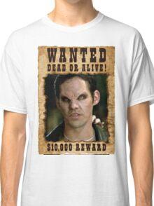 Buffy Xander Wanted Vampire Classic T-Shirt
