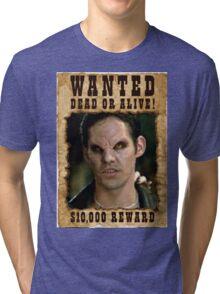 Buffy Xander Wanted Vampire Tri-blend T-Shirt