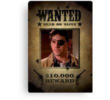 Buffy Xander Wanted 2 Canvas Print