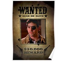 Buffy Xander Wanted 2 Poster