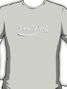 VeeDub - white print T-Shirt