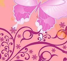 butterfly by lisylight