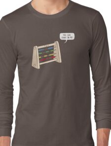 The Ever-Reliable Abacus Long Sleeve T-Shirt