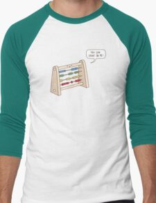 The Ever-Reliable Abacus Men's Baseball ¾ T-Shirt