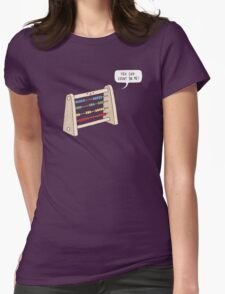 The Ever-Reliable Abacus Womens Fitted T-Shirt