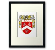 Richards Coat of Arms / Richards Family Crest Framed Print