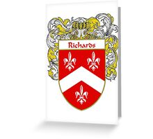 Richards Coat of Arms / Richards Family Crest Greeting Card