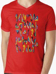 sneak-o-file Mens V-Neck T-Shirt