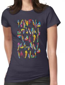 sneak-o-file Womens Fitted T-Shirt