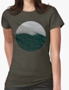 Pacific Northwest Lake Womens Fitted T-Shirt