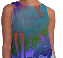 Web of Life - An Organic Drawing  Contrast Tank