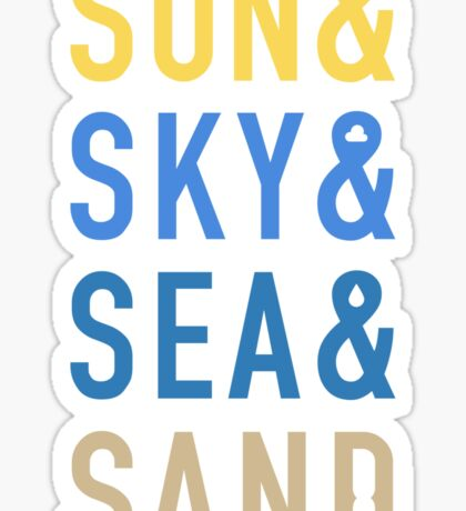 Fun In The Sun Sticker