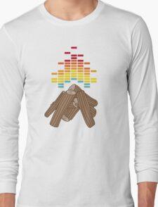 Crackling Fire Long Sleeve T-Shirt