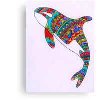 I'm A Pisces But I Rather Be A Killer Whale  Canvas Print