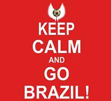 Keep Calm And Go Brazil! Tank Top
