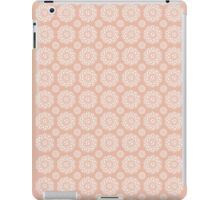 Football ShweShwe - Peach iPad Case/Skin