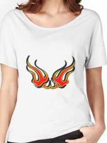 Feuer 3D  Women's Relaxed Fit T-Shirt