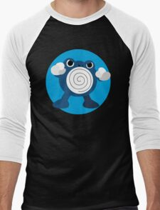 Poliwhirl - Basic Men's Baseball ¾ T-Shirt