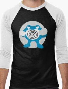 Poliwrath - Basic Men's Baseball ¾ T-Shirt