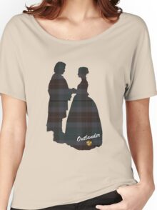 Outlander Wedding Silhouettes Women's Relaxed Fit T-Shirt