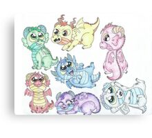 Baby Dragons Canvas Print