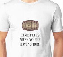 Time Flies Rum Unisex T-Shirt