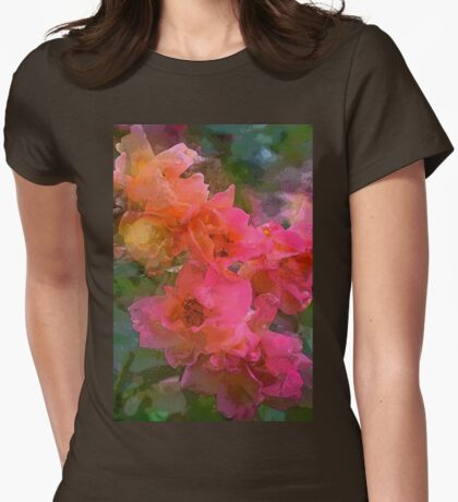 Rose 219 Womens Fitted T-Shirt