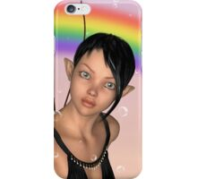 Fairy under Rainbow iPhone Case/Skin