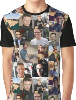 iDubbbzTV Collage Graphic T-Shirt