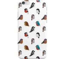 Beautifully Designed Bird Breed Images iPhone Case/Skin