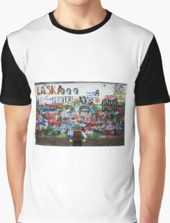 Lego Backpacker in Prague Graphic T-Shirt