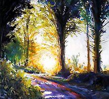 Light my way by Roman Burgan