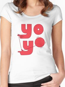 Yo Women's Fitted Scoop T-Shirt