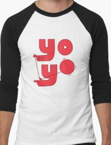 Yo Men's Baseball ¾ T-Shirt
