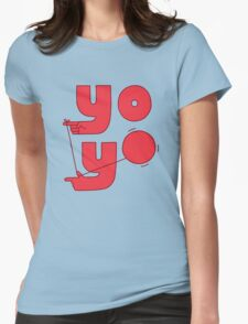 Yo Womens Fitted T-Shirt