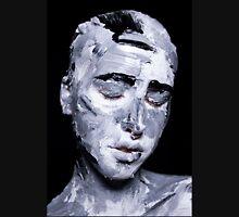Black and white expressive portrait painting Unisex T-Shirt