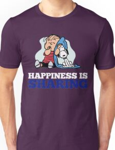 Snoopy and Charlie Brown Quote Unisex T-Shirt