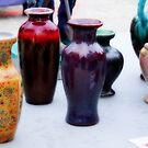 Colorful Vases by Paul Rees-Jones