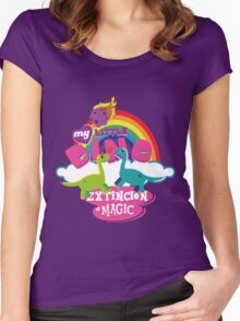 My Little Dino Women's Fitted Scoop T-Shirt