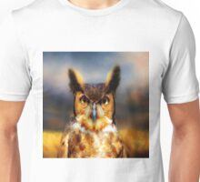 Great Horned Owl Unisex T-Shirt