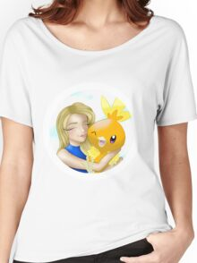 """Torchic"" Women's Relaxed Fit T-Shirt"