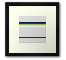 Beautiful Blue and Green Design Collection Framed Print