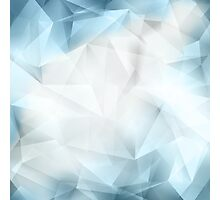 Abstract Crystal Background Photographic Print