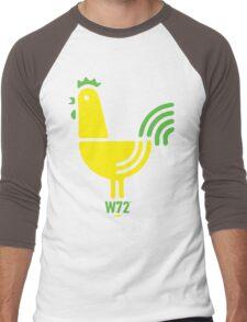 Groovy Designer Cockerel Men's Baseball ¾ T-Shirt