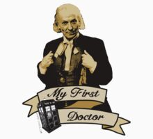 My first Doctor (Who) First 1st William Hartnell Kids Clothes