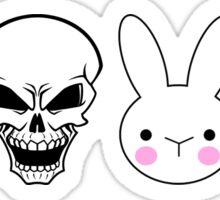 Bunny Skull Bunny Skull Sticker