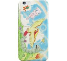 pokemon southern islands artwork iPhone Case/Skin