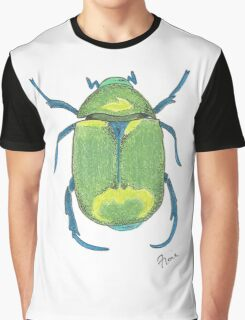 Gregory the Green Beetle Graphic T-Shirt