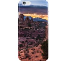 South Window Arch At Sunrise - Moab - Utah iPhone Case/Skin