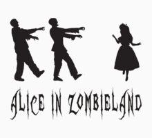 Alice in Zombieland by wordsonashirt
